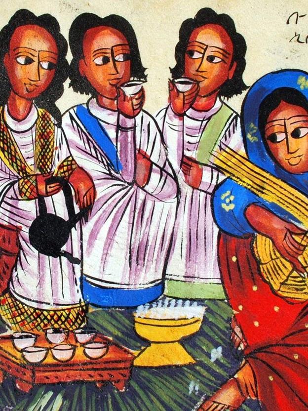 Ethiopian Coffee Ceremony – EtBuna